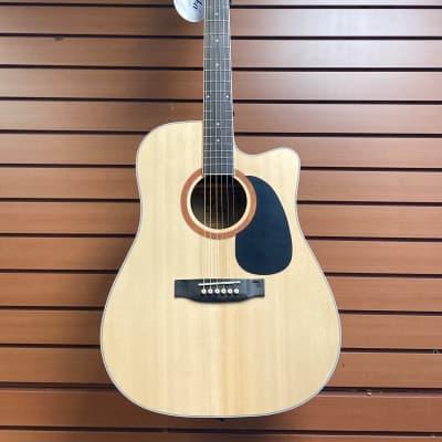 Alba SDG-313c Natural Satin Dreadnaught Acoustic for sale