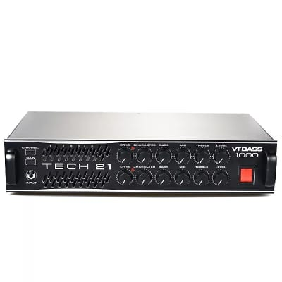 Tech 21 VT Bass 1000 Private Stock 2 Channel 1000 Watt Character Series Bass Head USED for sale