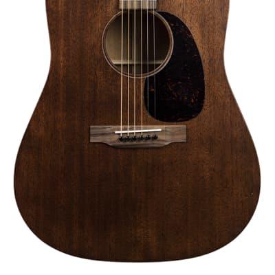 Martin D-15M All-Mahogany Dreadnought Acoustic Guitar - Mahogany