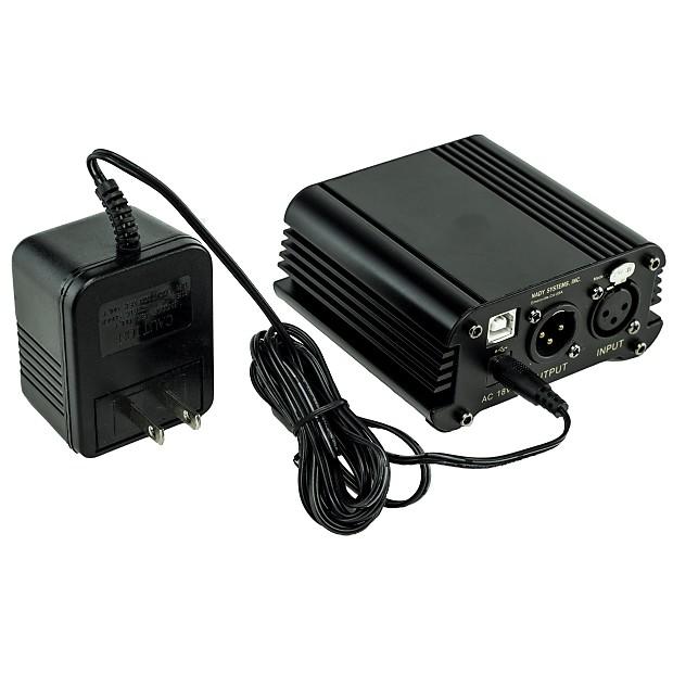 nady smps usb 2 channel usb phantom power supply for scm reverb. Black Bedroom Furniture Sets. Home Design Ideas