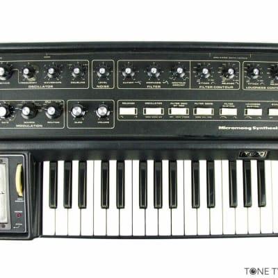 MOOG MICROMOOG Vintage Analog Synthesizer FULLY OVERHAULED synth keyboard