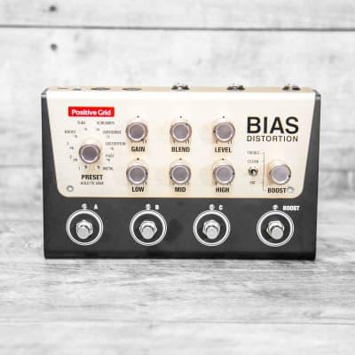Positive Grid BIAS Tone Match Distortion Pedal (4 Button) for sale