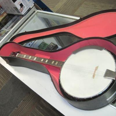 Harmony Roy Smeck Banjo w/Case for sale
