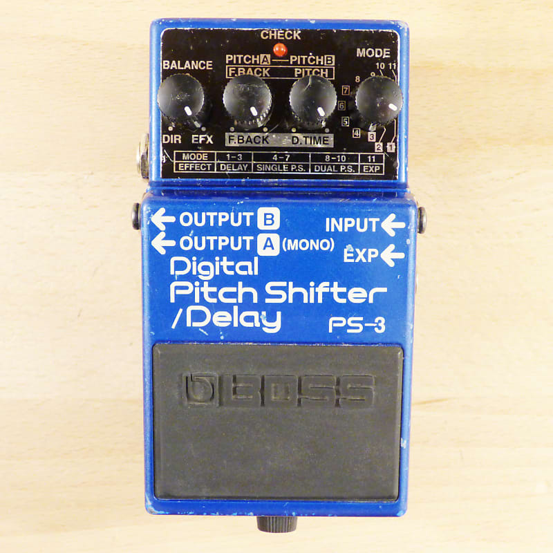 boss ps 3 digital pitch shifter delay classic collectible reverb. Black Bedroom Furniture Sets. Home Design Ideas
