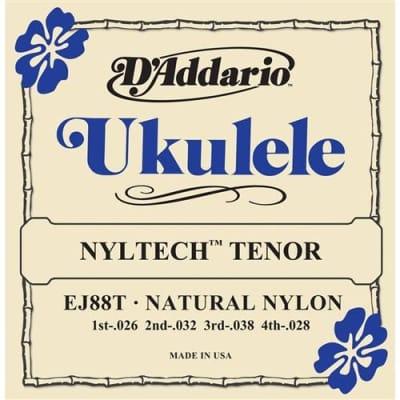 D'Addario EJ88T Nyltech Ukulele Strings - Tenor