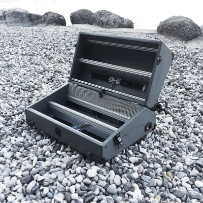 12U Eurorack Case Powered, 84 or 104 hp, patched resealable, modular synthesizer synth