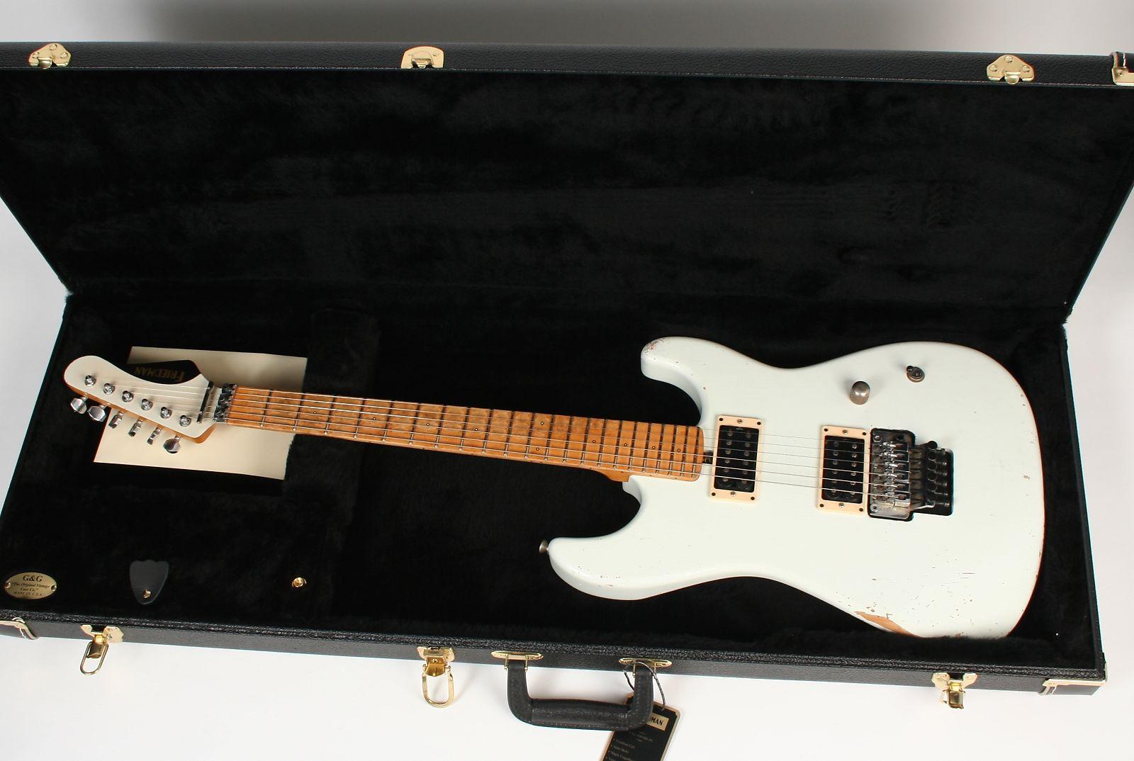 Friedman Cali New Vintage White Guitar Electronics Dstevensdesign