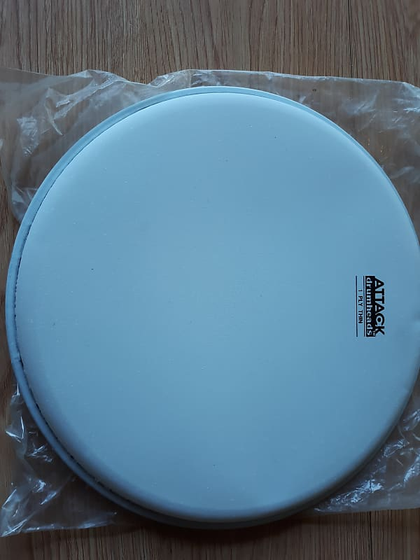 attack dha10 1 ply thin coated drum head 10 reverb. Black Bedroom Furniture Sets. Home Design Ideas