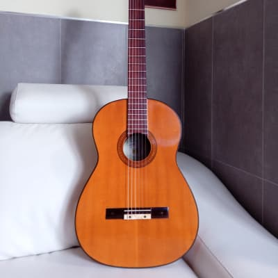 Vicente Sanchis Cipres Rizado 1970. Old guitar for sale