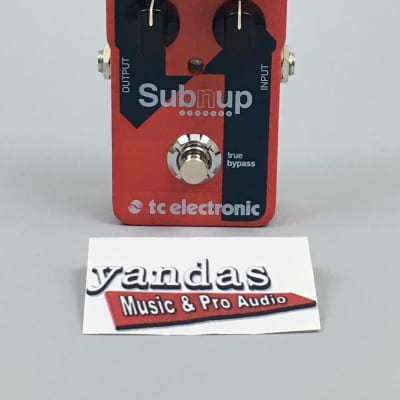 TC Electronic Sub'N Up Octaver Effects Pedal