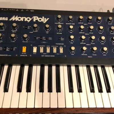 Korg Mono/Poly Analog Synthesizer With Midi