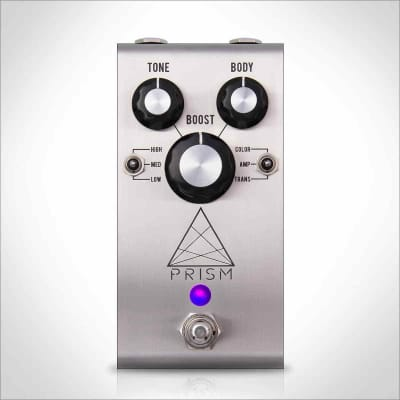 Jackson Audio Prism Preamp Boost Pedal with Stainless Steel Enclosure