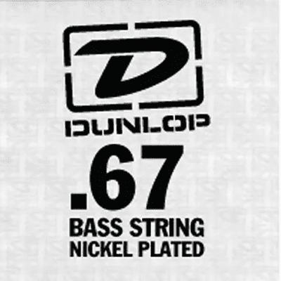 Dunlop DBN67 Nickel Wound Bass String - 0.067