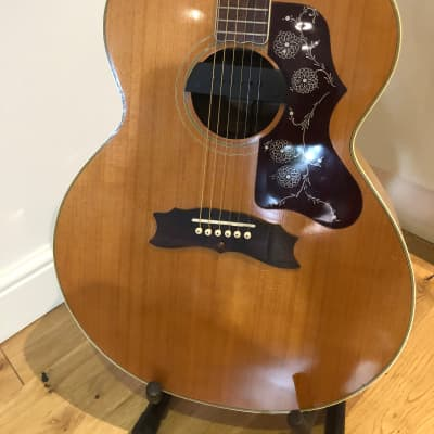 Egima J250 / Gibson J200 Style  Ultra Rare Acoustic 1974 - PX Welcome for sale