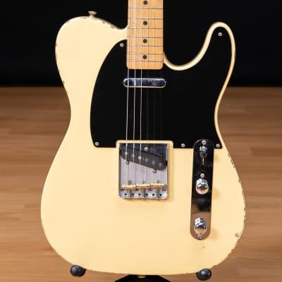 Fender Vintera Road Worn '50s Telecaster - Maple, Vintage Blonde SN MX21052423
