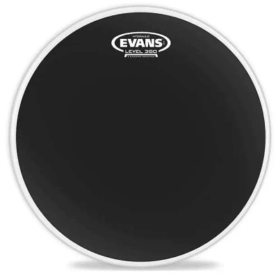 "Evans B14HBG Hydraulic Black Drum Head - 14"""