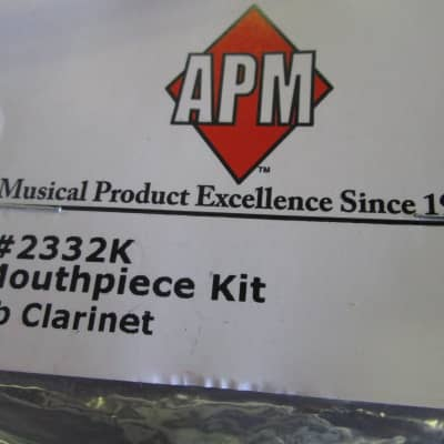 American Plating 2332K Clarinet Mouthpiece Kit 2010s Standard
