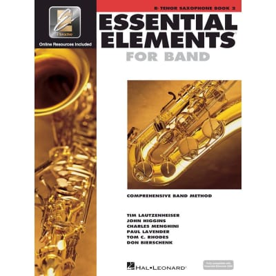 Hal Leonard Essential Elements for Band - Book 2 with EEi: Bb Tenor Saxophone