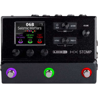 Line 6 HX Stomp Guitar Effects Pedal