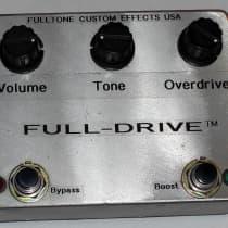Fulltone Full-Drive V1 Mid-'90s Silver image