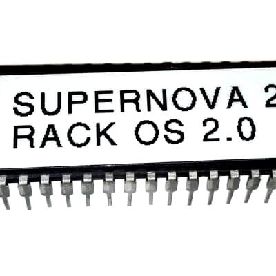 Novation Supernova 2 Rack Version Firmware Latest Os V 2.0  Eprom