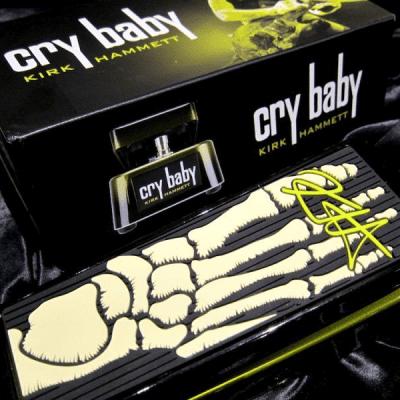 "Jim  Dunlop""KH95"" Kirk Hammett Signature Cry Baby WAH Pedal"