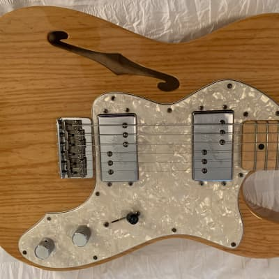 Fender '72 Thinline Telecaster 2007 Natural Ash for sale