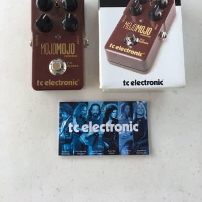 TC Electronic Mojomojo Overdrive Mojo Mojo True Bypass Guitar Effect Pedal