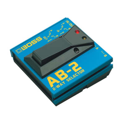 BOSS AB-2 2-Way Selector Switch for sale
