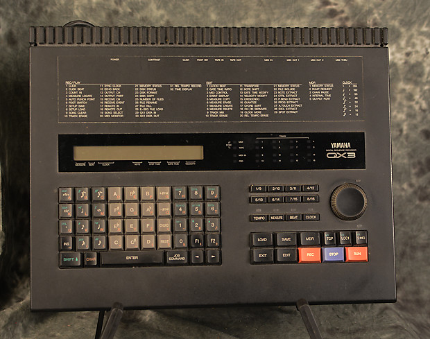 Yamaha QX-3 MIDI Sequencer Recorder Editor Vintage 90s w Original Manual  Included We Ship FAST!