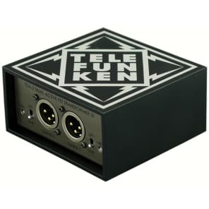 Telefunken TDA-2 Active Stereo DI Box