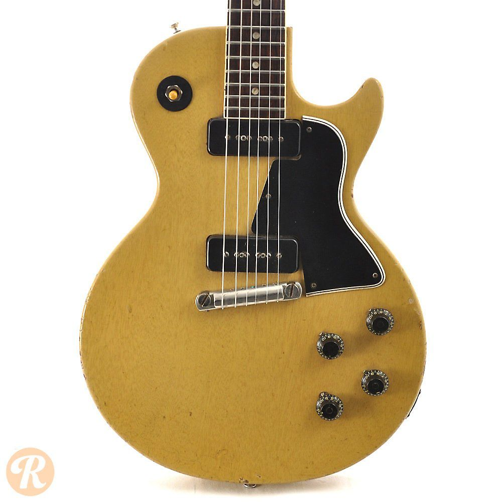 gibson les paul special tv yellow 1957 reverb. Black Bedroom Furniture Sets. Home Design Ideas