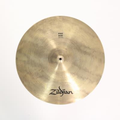 """Zildjian 20"""" A Series Ping Ride Cymbal 1986 - 2012"""