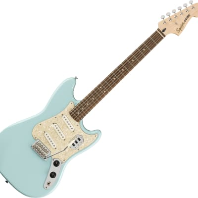 Squier Paranormal Series Cyclone - Daphne Blue for sale