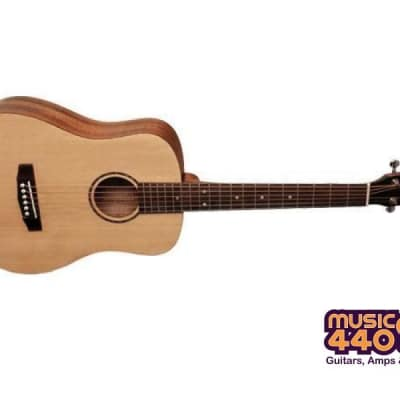Cort AD Mini Travel Acoustic Guitar - Open Pore Natural for sale