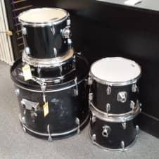 Fender Starcaster Drum Set Black | Reverb