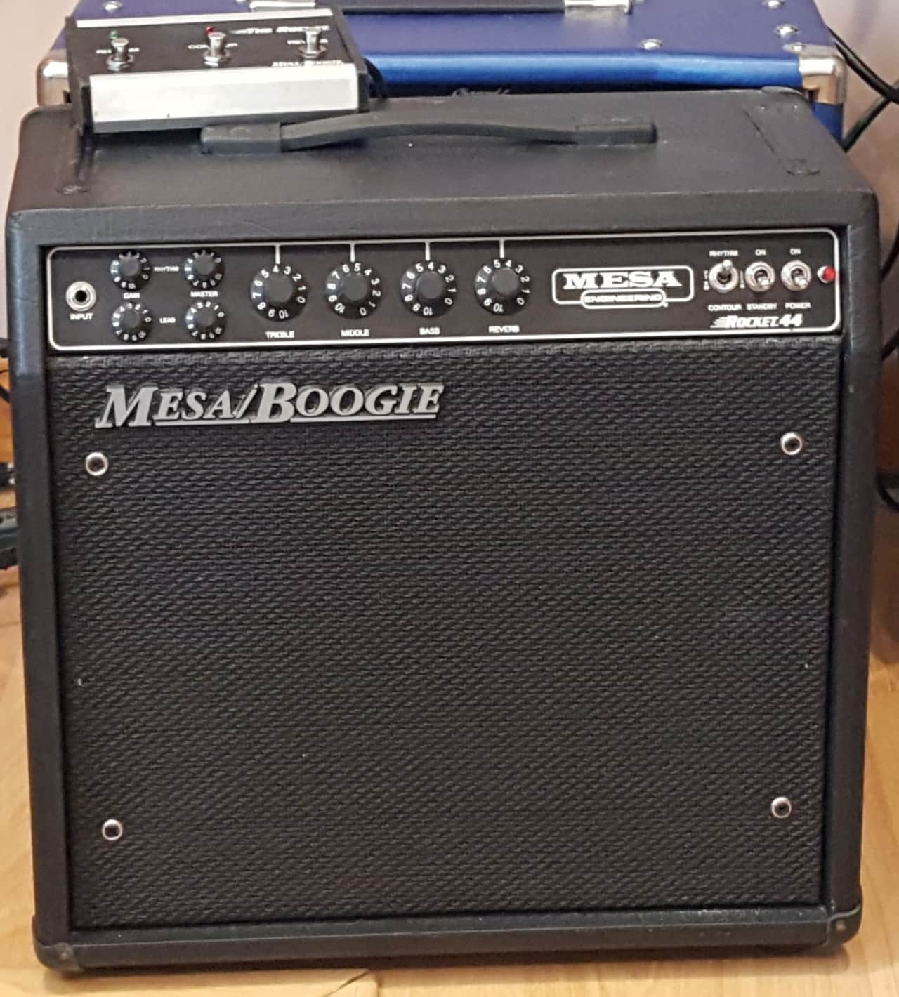 mesa boogie rocket 44 w footswitch reverb