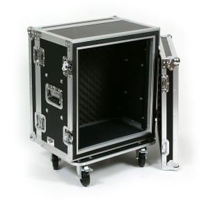 "OSP SC12U-12 12-Space 12"" ATA Shock Mount Effects Rack Case w/ Casters"