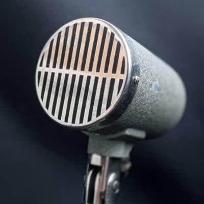 1958 Oktava  SMD-35: Dynamic Microphone - One of the RAREST Vintage Soviet Oktava mic /w Table Stand