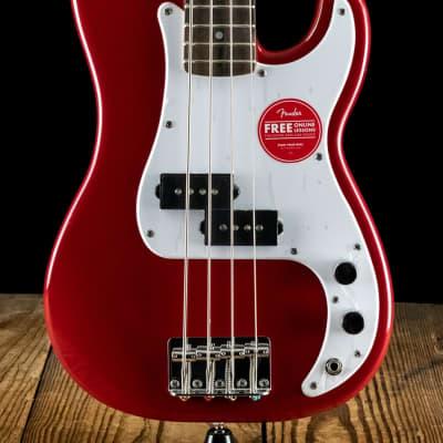 Squier Mini Precision Bass - Dakota Red - Free Shipping