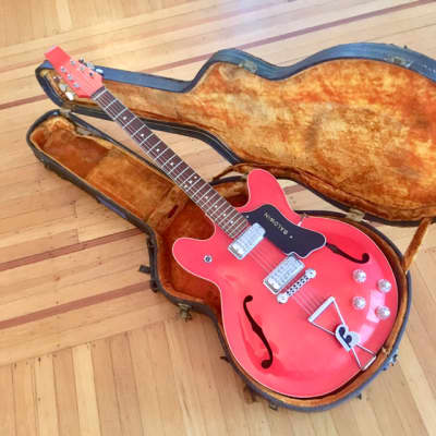 Baldwin 706 electric guitar c 1960s Cherry red original vintage burns vox uk gretsch for sale