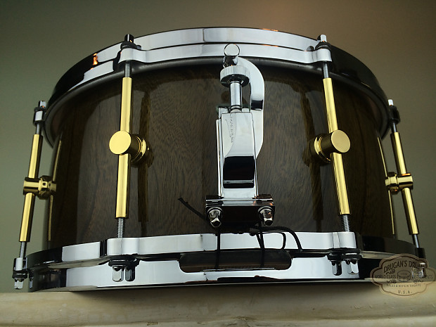 canopus zelkova solid snare 6 5 x14 reverb. Black Bedroom Furniture Sets. Home Design Ideas