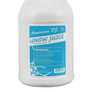 American DJ SNOW-GAL Snow Machine Fluid (1 Gallon)