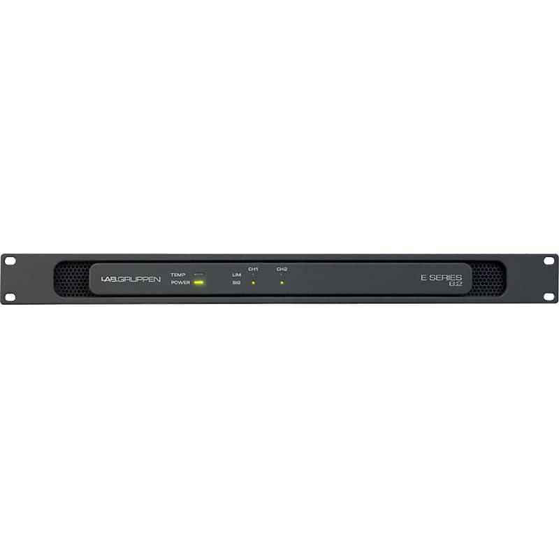 Lab Gruppen Lab Gruppen E 8:2 E82 E8:2 800w Power Amplifier Install  Amplifier