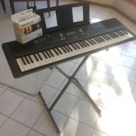 Yamaha PSR-EW300 76-Key Portable Keyboard w/SK D2 Survival Kit & PKBS1 Keyboard Stand