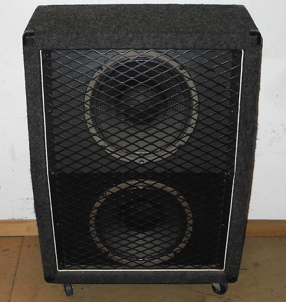 Vintage Carvin V212 Wide Body Vertical 2x12 Electric Guitar Cab! Speaker  Cabinet
