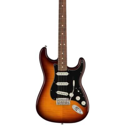Fender Player Stratocaster Plus Top Tobacco Sunburst Pau Ferro Fingerboard