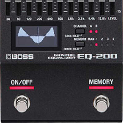Boss EQ-200 Graphic Equalizer Effects Pedal for sale