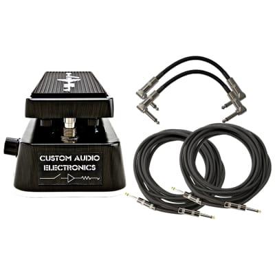 Dunlop MC404 CAE Dual Inductor Wah Pedal Bundle
