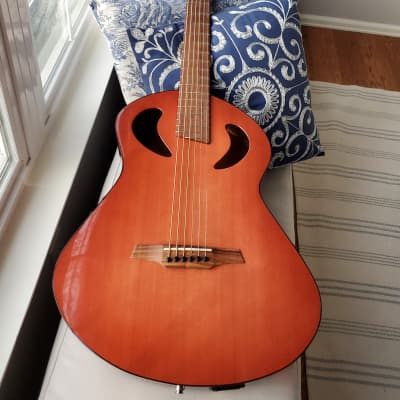 Veillette  Grand Baritone 2010 Light Red Burst for sale